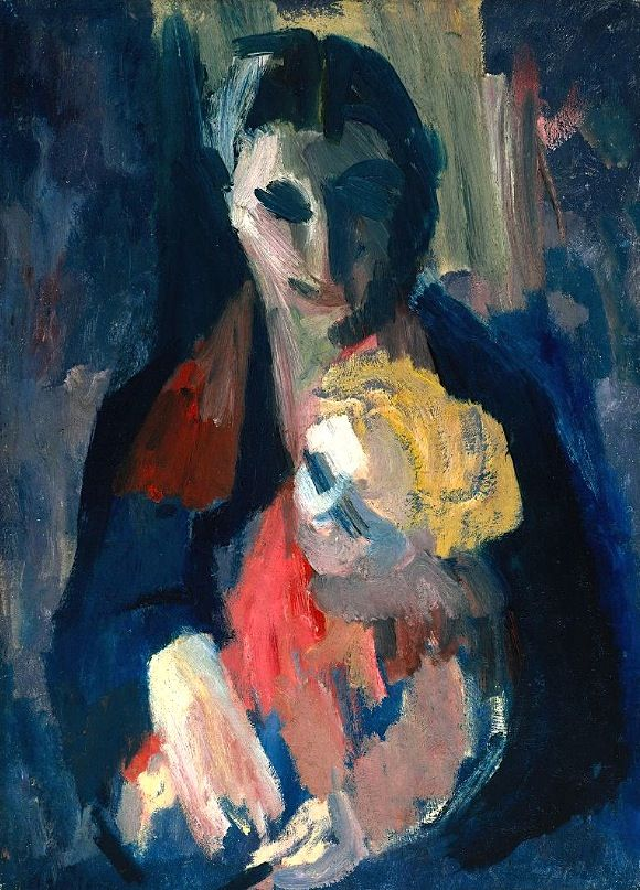 The Artist's Wife and Baby', David Bomberg