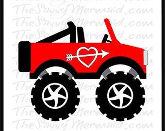 Boy Valentine Svg Valentine Truck Svg Valentine S Day Valentine