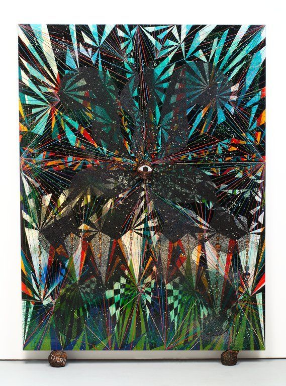 Third Eye Vision, Chris Ofili, 1999
