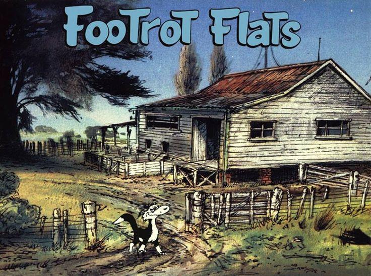 Foot rot flats:)