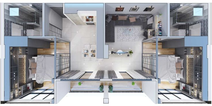 Type D - 2 bedrooms - CITYGATE Phuket - Best condominium Kamala
