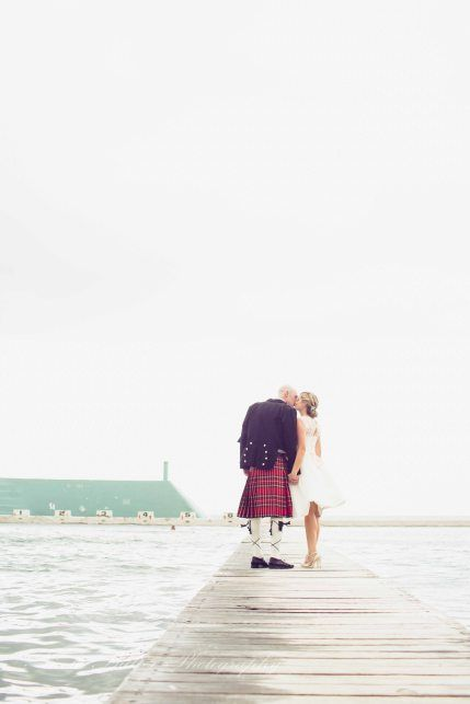 Love a wedding where men are in Kilts   Love the scotsman  newcastle photography  Nicole Butler photography wedding pose