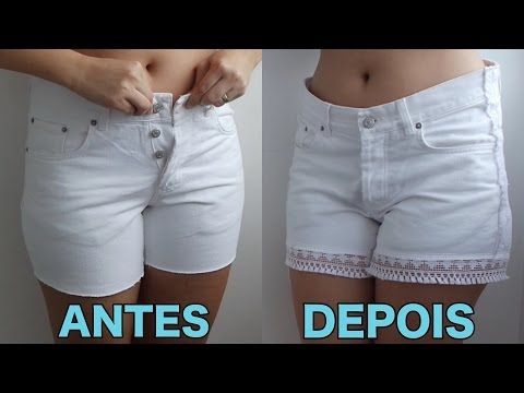 Moda feminina – dica para aumentar medida de short apertado - Silhueta Feminina 7