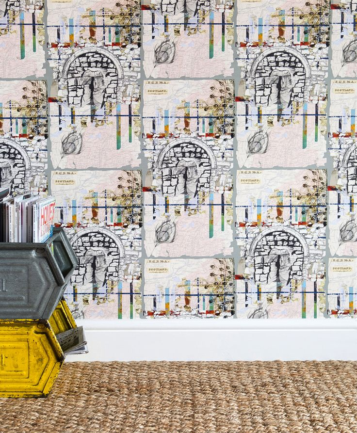 Southampton Fusion luxury wallpaper, 180gsm coated non-woven,180gsm, 52cm w x 10m roll. #luxury #wallpaper #City #scape