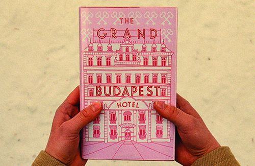 Grand Budapest Hotel graphic designer: Annie Atkins