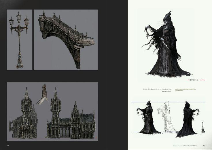 Bloodborne Concept Art - Bell Ringer Concept Art