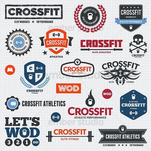 Crossfit logos & graphics