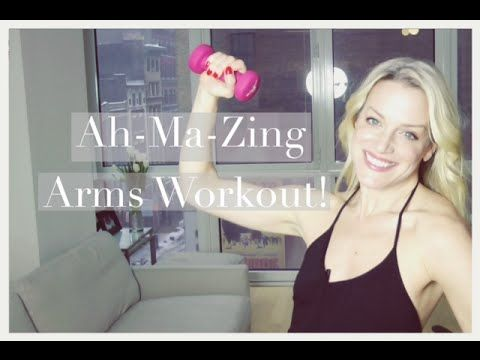 ▶ Amazing 10 minute ARM WORKOUT! Best arm workout for women - YouTube