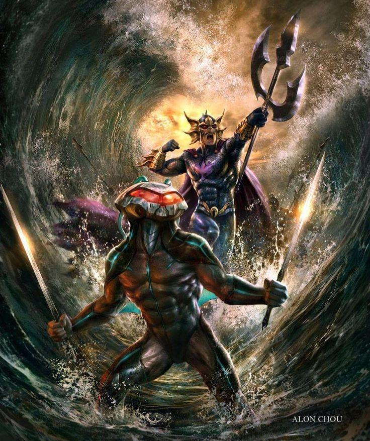 Black Manta and Ocean Master