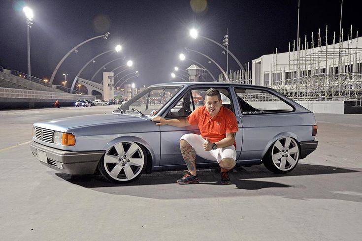Gol 1000 com rodas da Saveiro Surf e rebaixado. Nelson fez parte de uma matéria especial aqui no AutoCustom e agora mostra mais detalhes do seu carro. Confira!