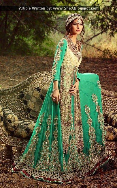 Zahra Ahmad Occasional Wear Luxury Pret 2015