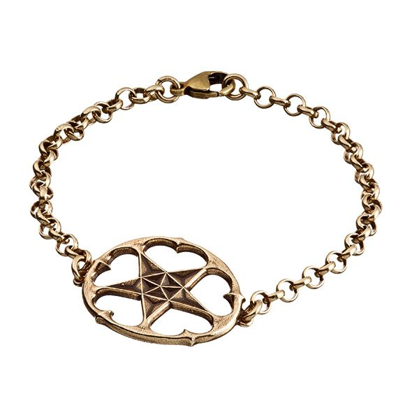 "MICHAEL MONROE A STAR ALL HEART BRACELET ""Throughout all the years of my life and career, the most important thing to me has always been tha..."