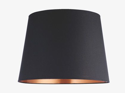 grande blacks fabric black cotton large empire lampshade lamp shades. Black Bedroom Furniture Sets. Home Design Ideas