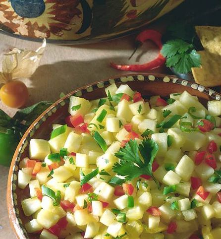 Created by: @fvmorematters: With rich, savory creams and sauces, most Mexican recipes might seem like a dieting splurge—but this pineapple salsa is so healthy, you can enjoy it without an ounce of guilt. It's delicious with grilled shrimp, fish or chicken. Kroger Staff Dietitian Allison Kuhn notes that the recipe contains zero grams of fat, but is chock full of vitamins as well as plenty of fiber.