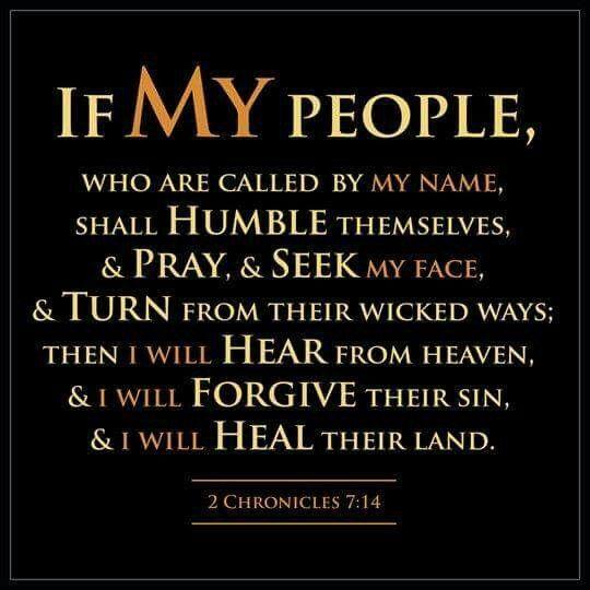 2 Chronicles 7:14 KJV
