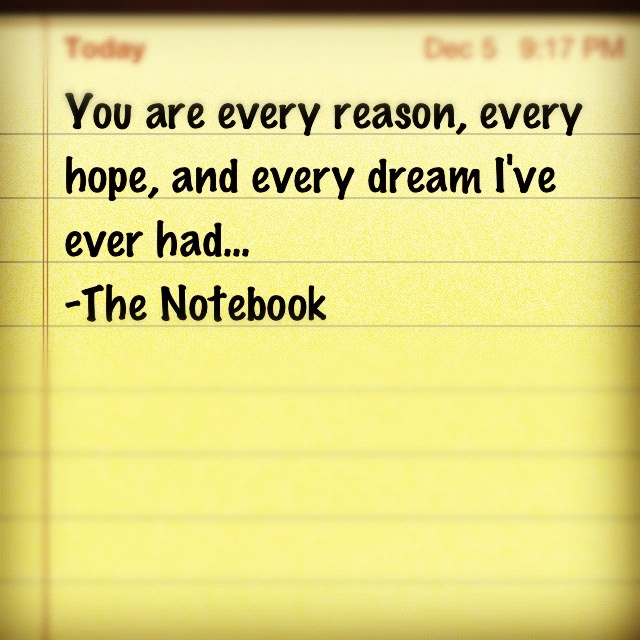 Quotes From The Notebook Book: 1000+ Images About The Notebook Quotes On Pinterest