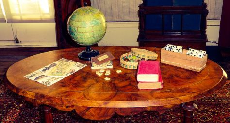 The Elms Mission House Games Table