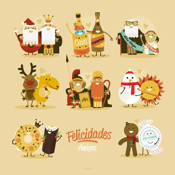 Feliz Cádiz! by Raul Gomez estudio, via Behance