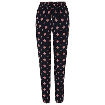 Tile Print Tapered Trousers | Women | George