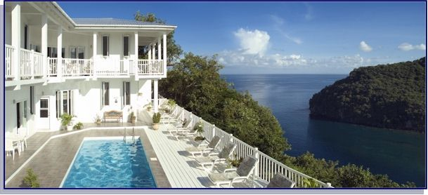 A house for rent in Marigot Bay, St. Lucia...who wants to split the rent?