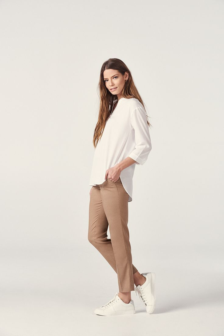 From the office to everyday wear. Our Smart Style Ankle Pants add an elegant touch to any outfit.