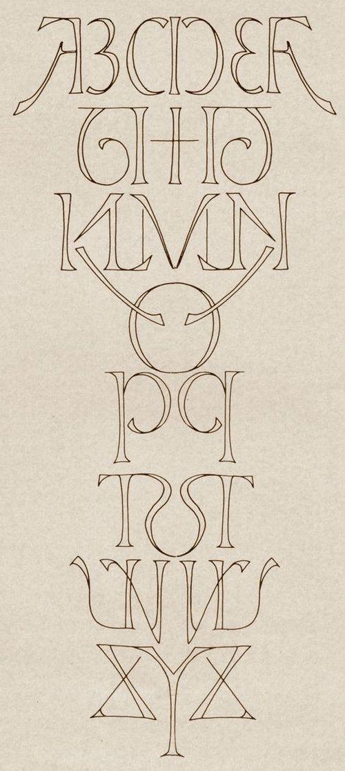 「Inversions」by Scott Kim  う、美しい。  ⇒ [らばQ] これすごいかも…ABC順に並べたアルファベットを全て「線対象」にしたアート  http://labaq.com/archives/51756354.html