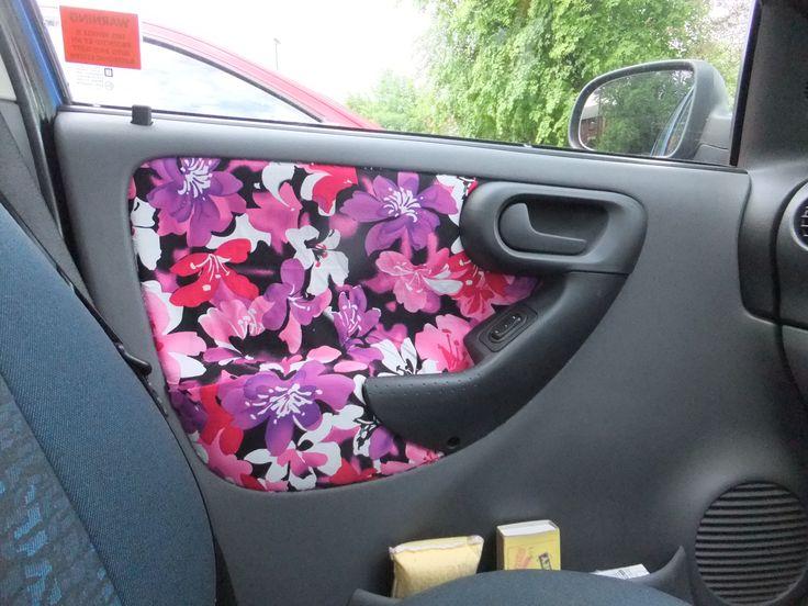car door upholstery