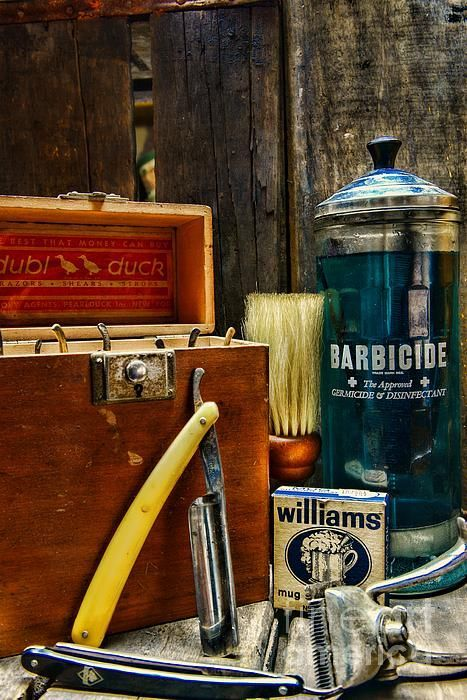 The Essentials of a Barber's Tool Box.