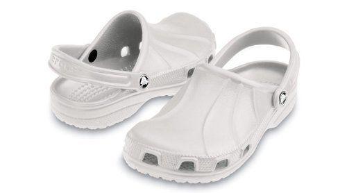 Crocs Professional Unisex Footwear, Size: 12 D(M) US Mens, Color: Pearl White crocs. $24.99. Save 38% Off!