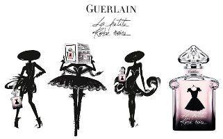 Guerlain PARIS campagne de pub LA PETITE ROBE NOIRE enjoy ...