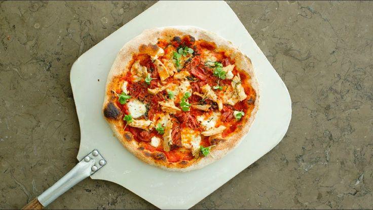 Bite Me! Chicken Diavola Pizza