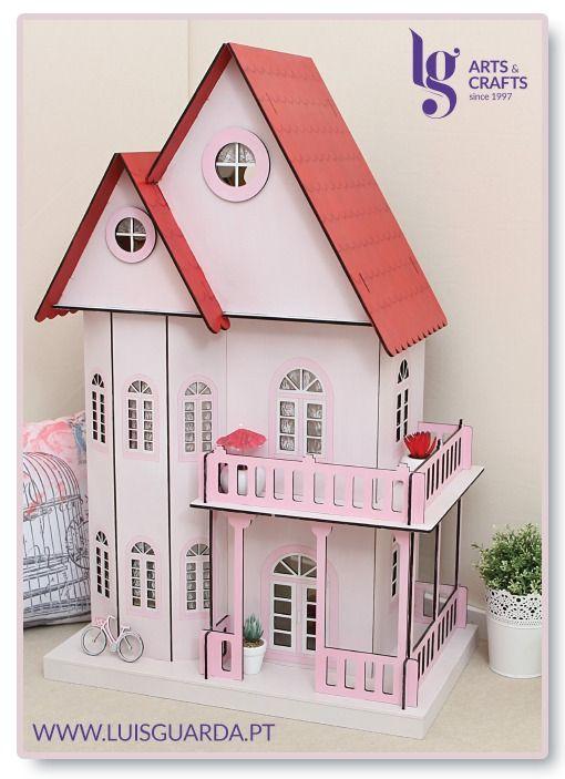 Casa de bonecas decorada! Compre para decorar em www.luisguarda.pt