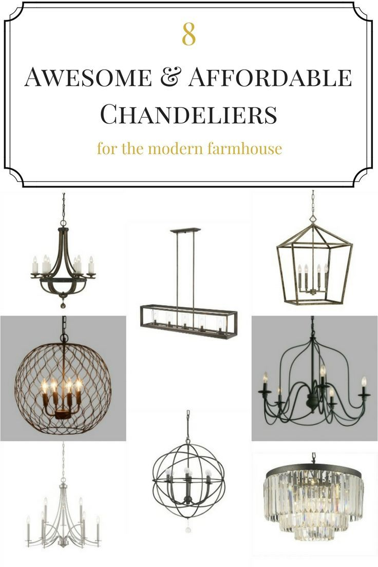 Modern Farmhouse Chandelier Lighting