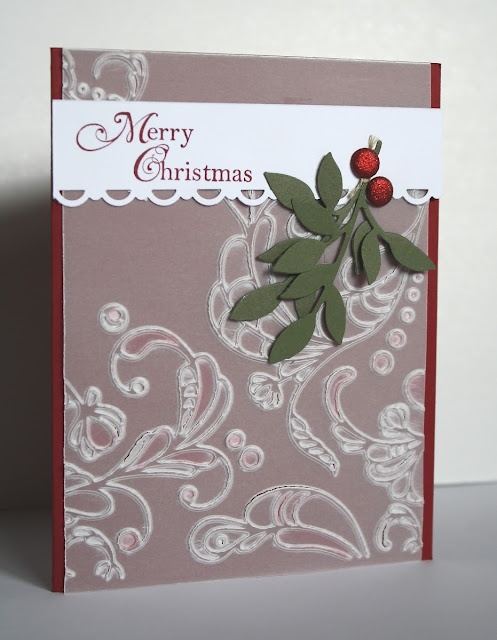 Card Making Ideas Using Vellum Part - 30: Glimmer Berries By Kristin Moore - Cards And Paper Crafts At  Splitcoaststampers