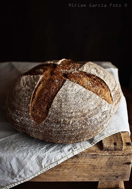 Spelt bread made with beer and honey