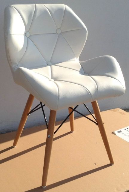 Cтулья Crown wood PVC (Краун вуд кожзам) для кафе, бара, дома, офиса Украина