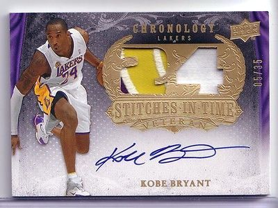 Kobe #bryant 2007-08 ud chronology #stitches in time patch #autograph  05/35 auto,  View more on the LINK: 	http://www.zeppy.io/product/gb/2/391579115965/