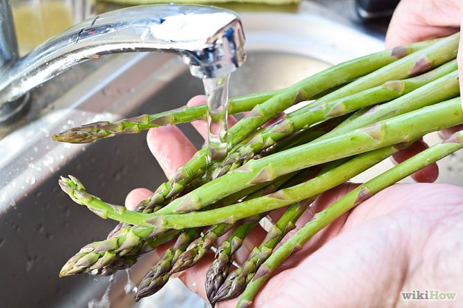 How to prepare and cook Asparagus on the stove top