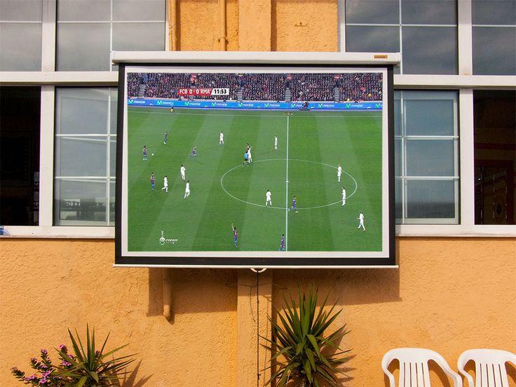 Watching Football in Mirtos | bit.ly/mirtosmoments