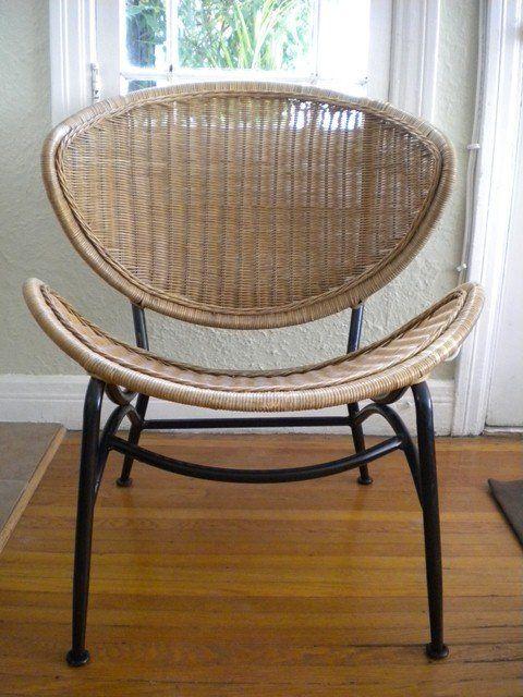 One Kings Lane   Mid Century Modern Wicker Chairs, Pair | V I N T A G E * D  E C O R | Pinterest | Wicker Chairs, Mid Century Modern And Kings Lane