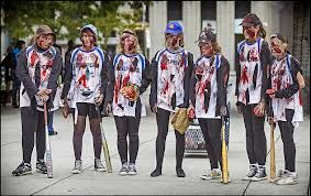 Softball team zombies
