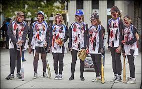 Softball team zombies
