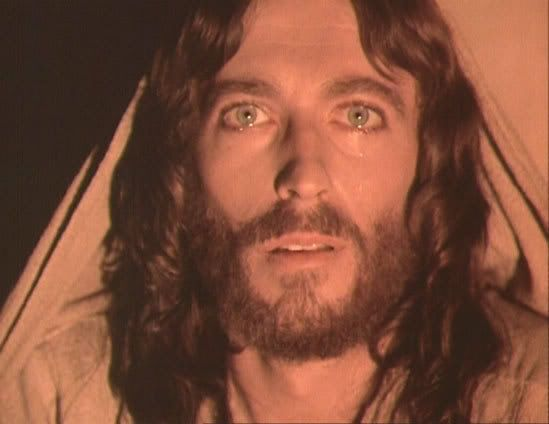 "Photo of Jesus Of Nazareth - (Photos from the Movie. Jesus played by Robert Powell.) for fans of Jesus. Photos from the Movie, ""Jesus Of Nazareth."" Jesus portrayed by ""Robert Powell."" EXCELLENT FILM FOR EVERYONE!!!"