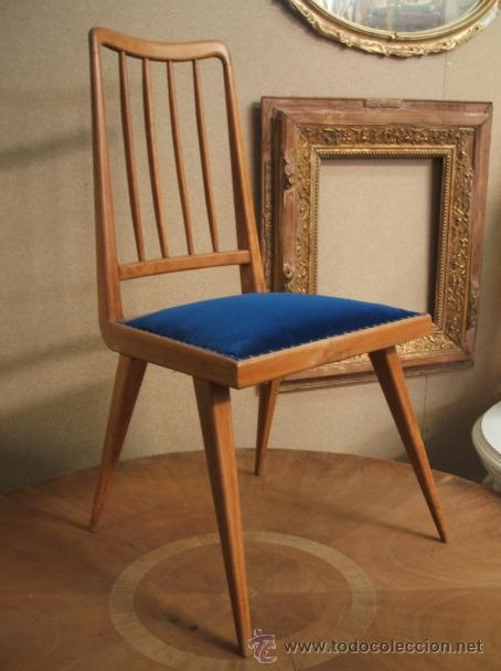 Silla vintage estilo danes a os 50 sillas diferentes for Sillas para vanity