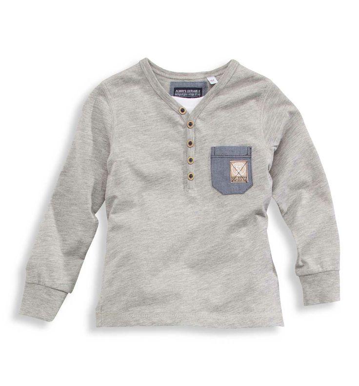 T-shirt  col Serafino  C&A