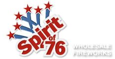 consumer fireworks logos | Welcome to Spirit of 76' Fireworks
