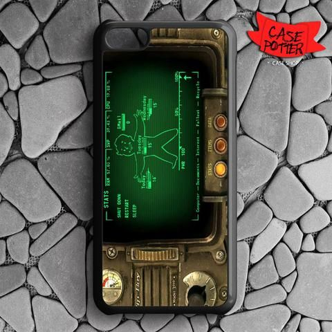 Fallout Pipboy Rainmeter iPhone 5C Black Case