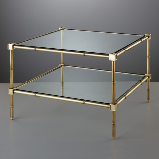 meurice 2 tier table by jonathan adler