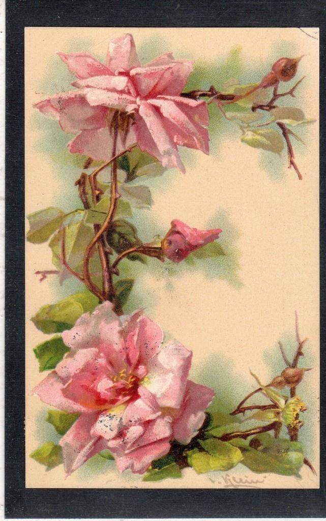 AS261 postcard Klein Alphabet letter E cancel 1907 | eBay