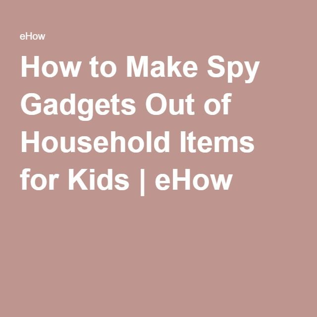 Images about di stuff on pinterest gadgets spy gadgets and for kids